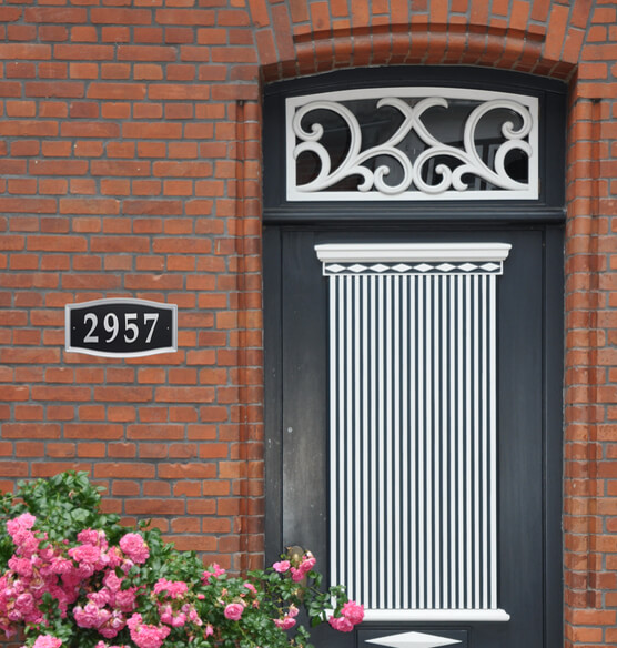 Easy Street Address Sign - View 1