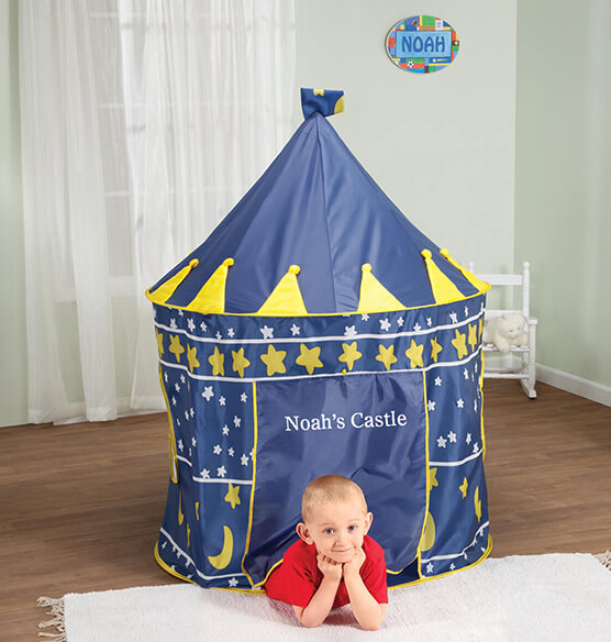 Personalized Children's Castle Tent