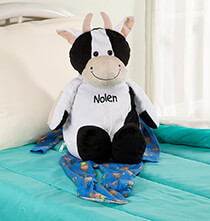 Toys - Personalized Stuffed Cow