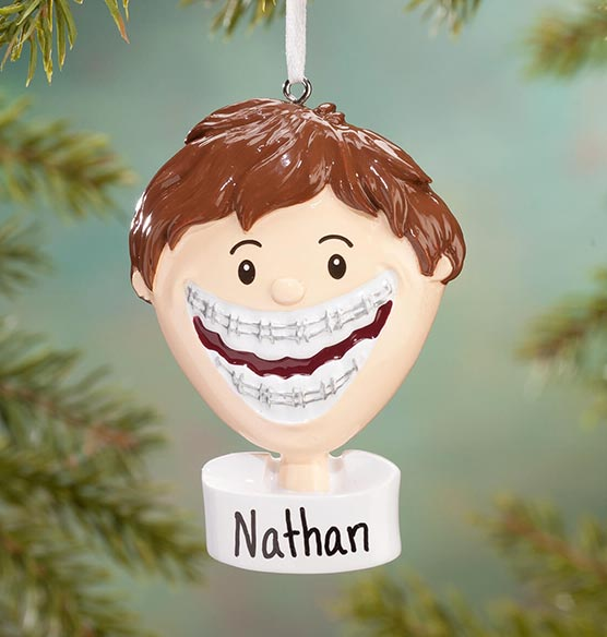 Personalized Braces Ornament