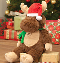 New - Personalized Christmas Moose