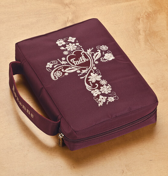 Personalized Faith Bible Cover - View 1