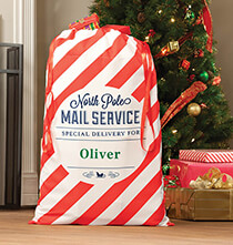 Holiday Décor - Personalized Santa Gift Sack