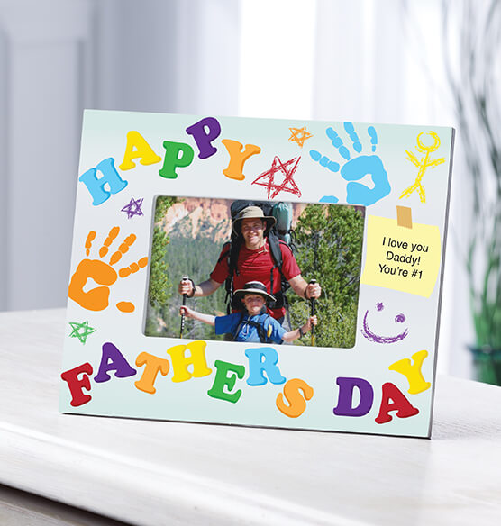 Personalized Father's Day Photo Frame – Kids' Creation