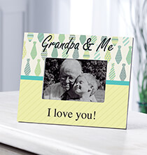 Frames for Him - Personalized Grandpa & Me Frame