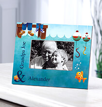 Frames for Him - Personalized Gone Fishing Frame