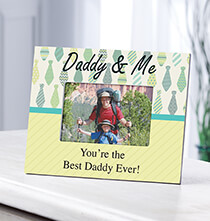 Frames for Him - Personalized Daddy & Me Frame