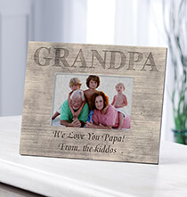 Personalized Shiplap Grandpa Frame
