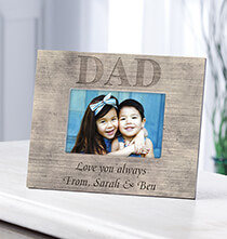 Frames for Him - Personalized Shiplap Dad Frame