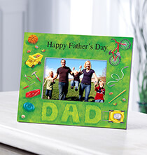 Unique Frames - Personalized Photo Frame for Dad – Lawn Words Frame