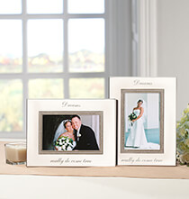Wedding Essentials - Personalized Brilliance 4 x 6 Photo Frame