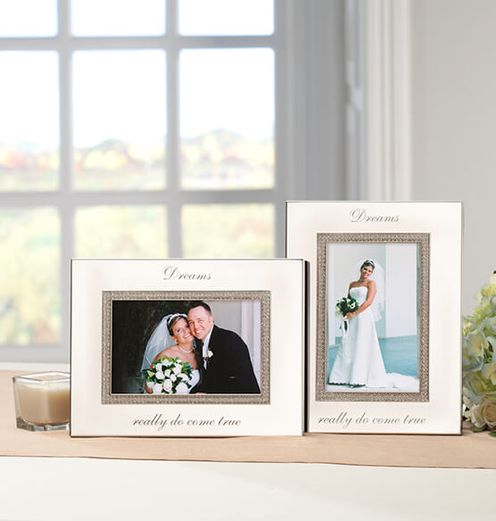 Personalized Brilliance 4 x 6 Photo Frame
