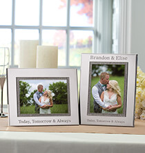 Wedding Essentials - Personalized Brilliance 5 x 7 Photo Frame