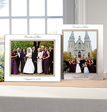 Gifts for Occasions - Personalized Brilliance 8 x 10 Photo Frame