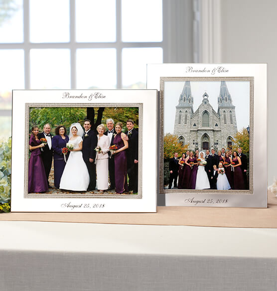 Personalized Brilliance 8 x 10 Photo Frame