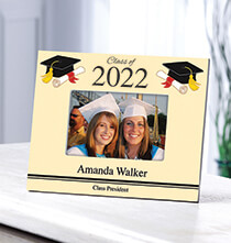 Graduation Gifts - Personalized Cap & Scroll Graduation Frame