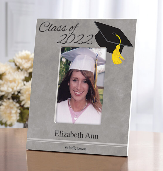 Personalized 2018 Grad Frame Vertical