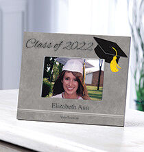 Gifts for Him - Personalized 2018 Grad Frame Horizontal