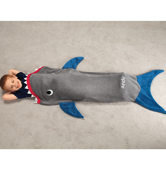 Blankie Tails™ Kids Shark Tail