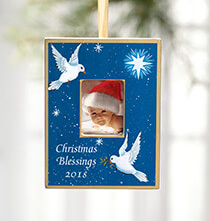 Holiday Ornaments - Personalized Peace Dove Ornament