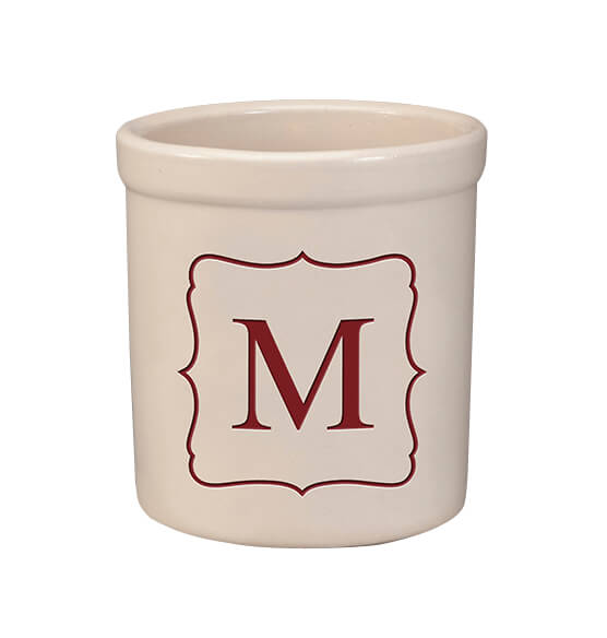 Personalized Monogram Crock, 2 qt.
