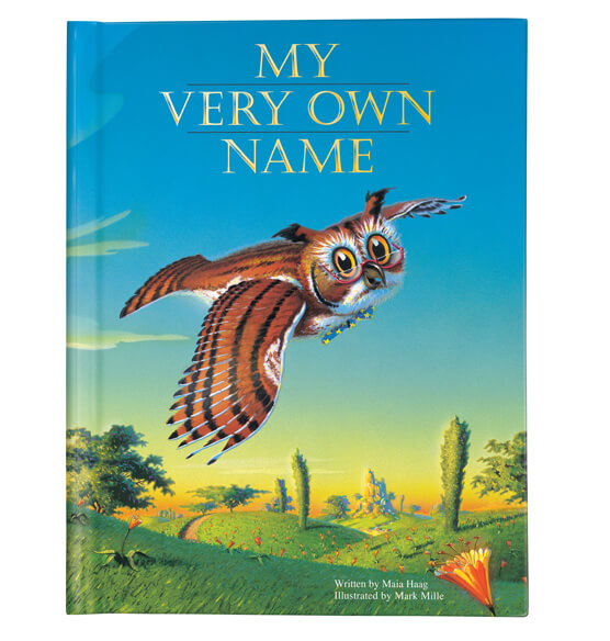 "Personalized ""My Very Own Name"" Storybook - View 1"