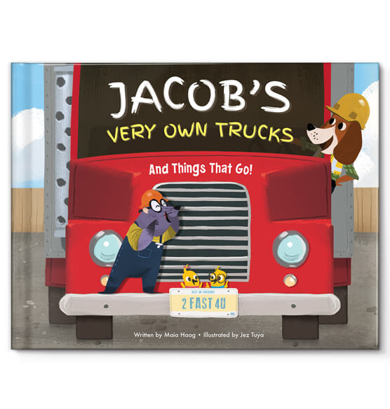 Personalized My Very Own® Trucks Storybook - View 1