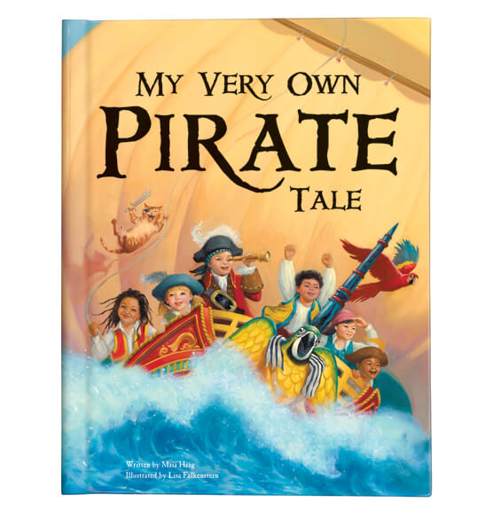 Personalized My Very Own® Pirate Tale Storybook