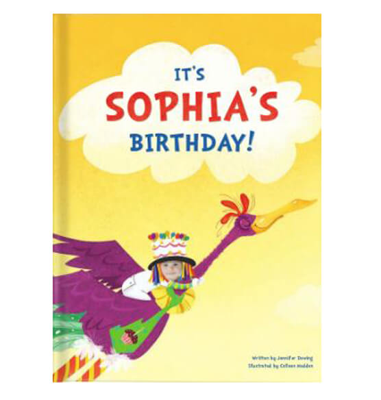 Personalized It's My Birthday Storybook - View 1