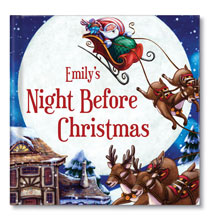Books & Education - Personalized My Night Before Christmas- from Chronicle Books