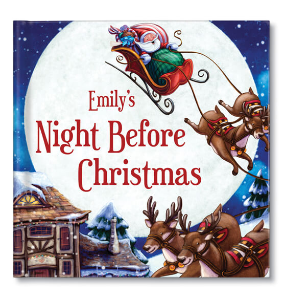 Personalized My Night Before Christmas- from Chronicle Books