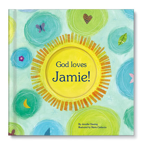 Personalized God Loves You! Storybook