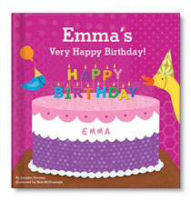 Books & Education - Personalized My Very Happy Birthday for Girls Storybook