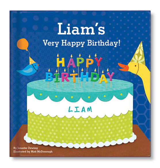 Personalized My Very Happy Birthday for Boys Storybook