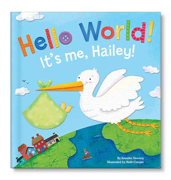 Personalized Hello World! for boys Storybook - View 1