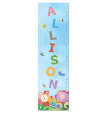 Room Décor - Dreamy Day Personalized Growth Chart