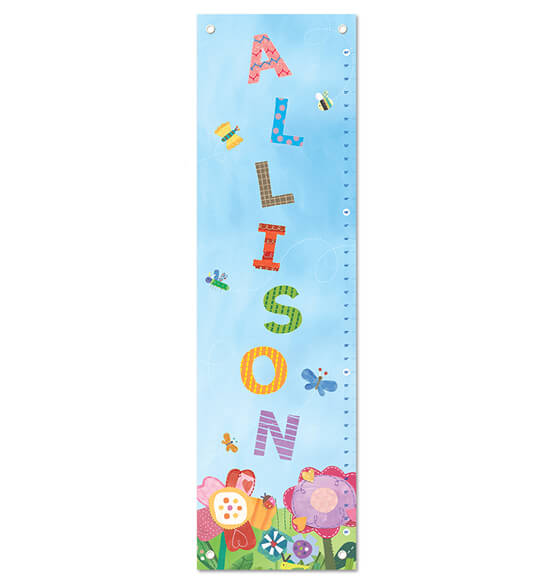 Dreamy Day Personalized Growth Chart