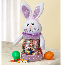 Easter - Personalized Easter Bunny Treat Jar