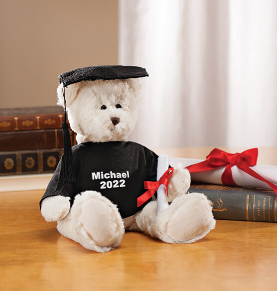 Personalized Graduation Bear - View 1