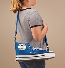 Personalized Sneaker Backpack