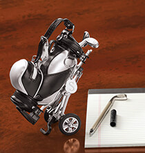 Personalized Golf Bag Pen Set