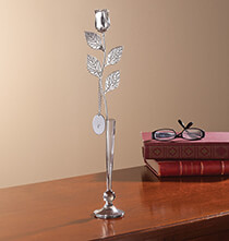 Wedding Gifts - Personalized Silver Plated Rose