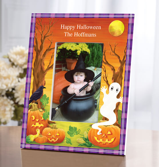 Personalized Haunted Harvest Frame