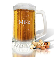 Entertaining for Her - Personalized Sport Beer Mug with Name
