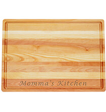 Cutting Boards - Personalized Large Block Cutting Board with Name