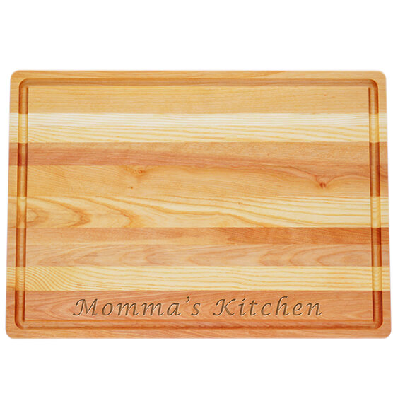 Personalized Large Block Cutting Board with Name