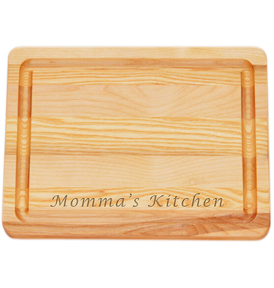 Personalized Small Block Cutting Board with Name