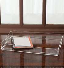 Desktop & Office - Personalized Acrylic Tray