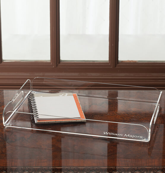 personalized acrylic tray serving trays exposures