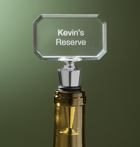 Personalized Bottle Stem in Gift Box